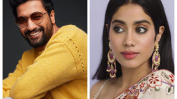 Check out Vicky Kaushal and Janhvi Kapoor were spotted on sets and we can't keep calm!