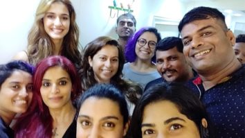 Disha Patani wraps up the shoot of Malang, Tiger Shroff congratulates her