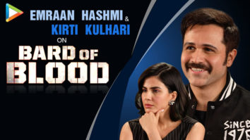 "Emraan Hashmi On Bard of Blood ""You can't be too CAUTIOUS when it comes to ART"" Kirti Kulhari"