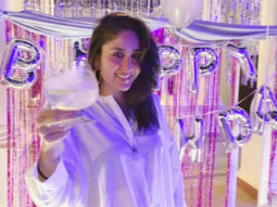 Kareena Kapoor Khan is all smiles as she cuts the cake on her birthday