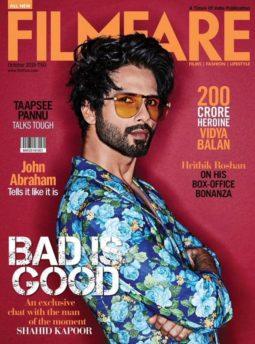 Shahid Kapoor On The Covers Of Filmfare