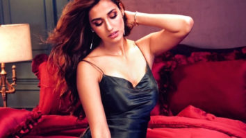HOT! Disha Patani raises the oomph factor in a sensual black gown