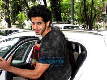 Photos: Ishaan Khatter spotted at the gym in Bandra