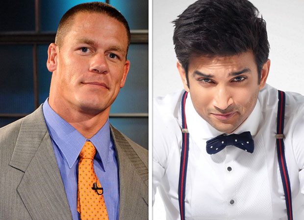 John Cena posts a photo of Sushant Singh Rajput leaving netizens confused