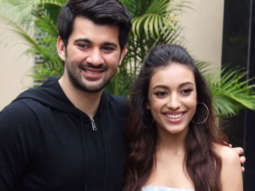 Karan Deol and Sahher Bambba spotted promoting their film Pal Pal Dil Ke Paas