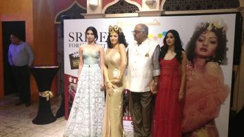 PHOTOS: Boney Kapoor, Janhvi Kapoor and Khushi Kapoor unveil Sridevi's statue at Madame Tussauds Singapore