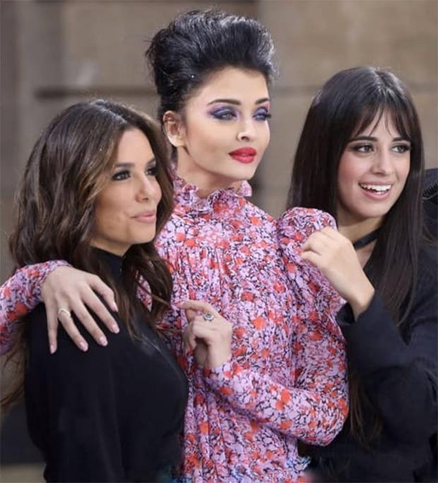 Paris Fashion Week 2019 Aishwarya Rai Bachchan makes her way to the ramp with Eva Longoria, Camila Cabello