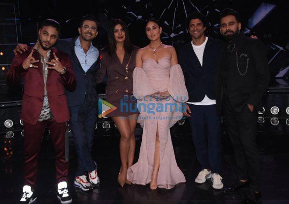 Photos Cast of The Sky Is Pink promote their film on the sets of Dance India Dance (4)