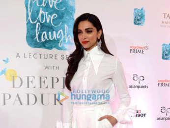 Photos: Deepika Padukone graces the launch of 'Live Love ...