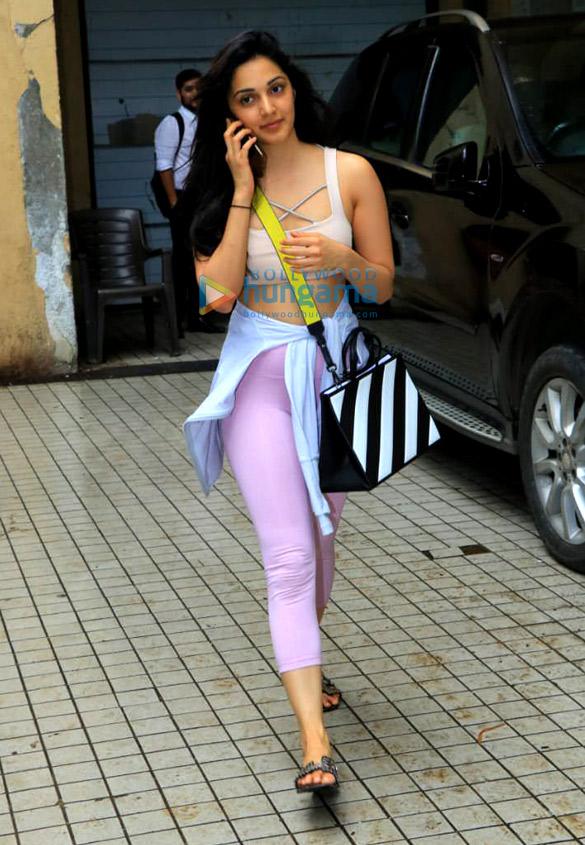 Photos: Kiara Advani snapped outside boxing class