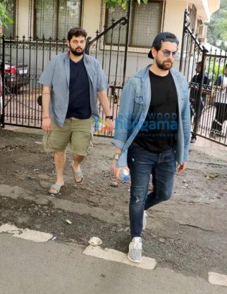 Photos: Neil Nitin Mukesh spotted with his brother Naman Nitin Mukesh in Andheri