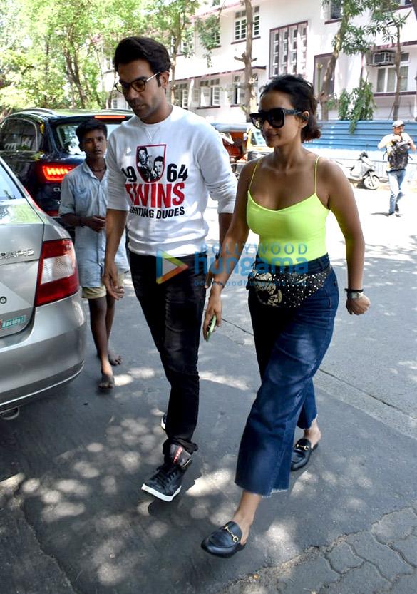 Photos: Rajkummar Rao & Patralekha spotted at Kitchen Garden in Juhu