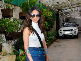 Photos: Rakul Preet Singh and Neil Nitin Mukesh snapped at Sunny Super Sound in Juhu