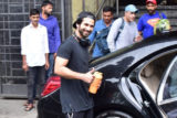 Shahid Kapoor spotted at I Think Fitness, Juhu
