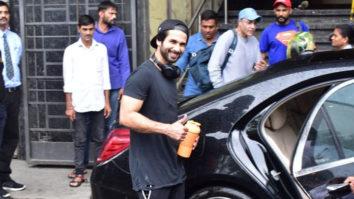 Shahid Kapoor spotted at I Think Fitness, Juhu