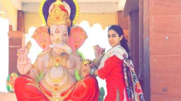 Shame! Sara Ali Khan gets trolled for celebrating Ganesh chaturthi