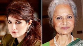 Waheeda Rehman reveals one thing from her bucket list; Twinkle Khanna gets surprised