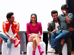 Team Chhichhore spotted at KC College for Promotion Shraddha Kapoor Sushant Singh R