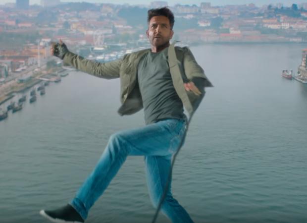 WAR: Hrithik Roshan performs daredevil stunt by jumping off a 300 feet bridge in Porto