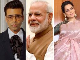 Kangana Ranaut, Karan Johar send wishes on PM Narendra Modi's 69th birthday