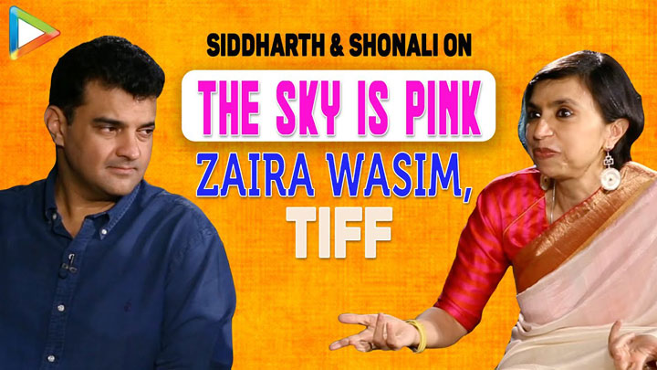 """""""Zaira Wasim completely did her COMMITMENT"""" Shonali Bose The Sky Is Pink Siddharth Farhan"""