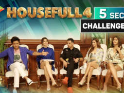 Akshay Housefull 4 - Hit, Superhit, Blockbuster 5 Second Challenge with Housefull 4 Team Riteish Kriti