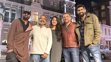 Baahubali team Rana Daggubati, Prabhas, Anushka Shetty and SS Rajamouli reunite in London
