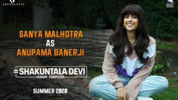 FIRST LOOK: Sanya Malhotra transforms into Anupama Banerjee for Shakuntala Devi biopic