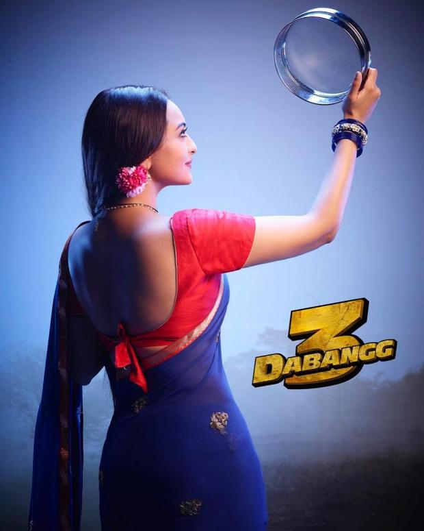 FIRST LOOK: Sonakshi Sinha celebrates Karwa Chauth in Salman Khan starrer Dabangg 3