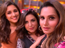 Farah Khan kickstarts her quiz show with Parineeti Chopra and Sania Mirza