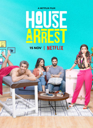 Here's how House Arrest cast Ali Fazal, Jim Sarbh, Shriya Philgaokar and Barkha Singh on the sets of their Netflix film