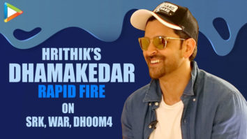 """Hrithik Roshan On DHOOM-4 """"I'd Love To Play Aryan Once More, It'd be INCREDIBLE"""" WAR Rapid Fire"""