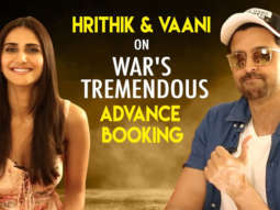 "Hrithik Roshan On WAR To Be His BIGGEST Opener ""I'll Be ENCOURAGED Once More But…"" Vaani Kapoor"