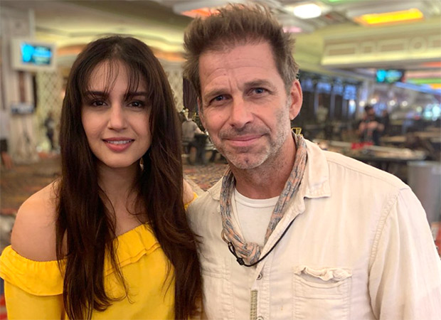 Huma Qureshi wraps up Zack Snyder's Army Of The Dead