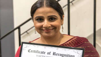 Vidya Balan bags Youth Icon award at Imperial College in London