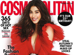 Janhvi Kapoor looks aesthetically pleasing in red as she graces the cover of Cosmopolitan on its 23rd anniversary