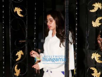 Photos: Janhvi Kapoor snapped at Old Dharma Productions office, Khar