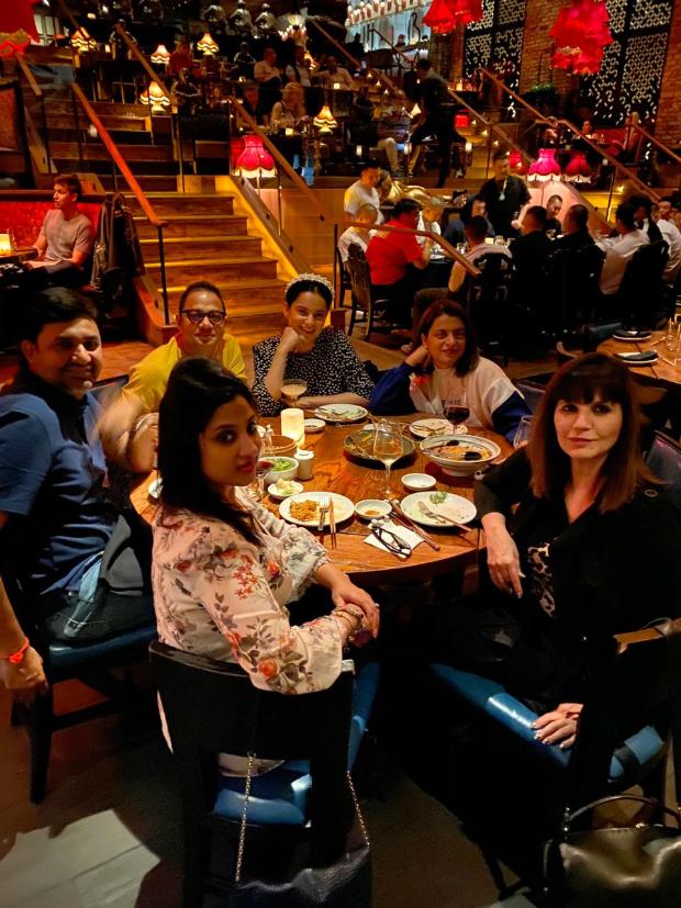 Kangana Ranaut and team Thalaivi bond in LA during look tests