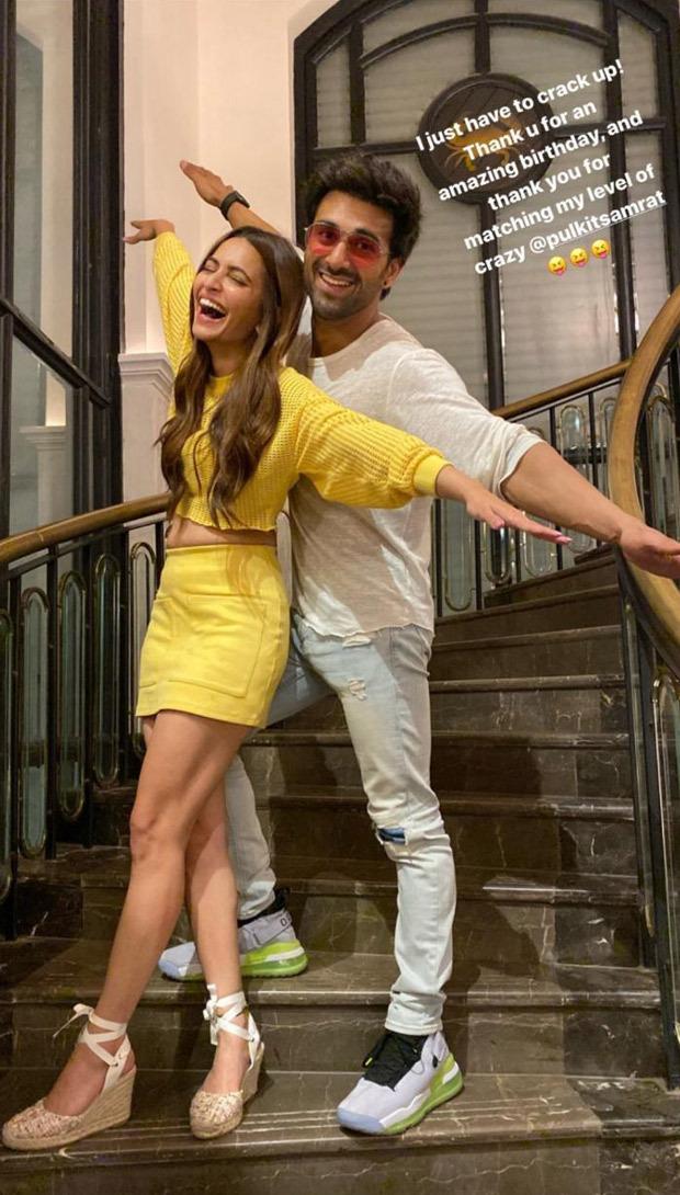 Kriti Kharbanda spends her birthday with rumoured boyfriend Pulkit Samrat