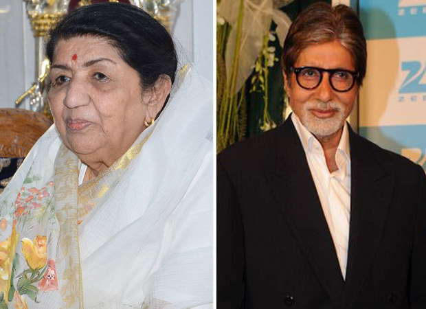 Lata Mangeshkar - Amitabh Bachchan mutual fan club, Lataji reacts