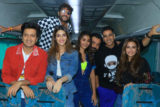 Mad Fun At HOUSEFULL 4 EXPRESS Akshay Kumar Riteish Deshmukh Bobby Kriti Pooja Kriti