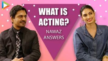 "Nawaz ""Kisi SCENE mein aapki 5% DEMAND hai toh utna hi karo, usme EXTRA…"" Motichoor Chaknachoor"