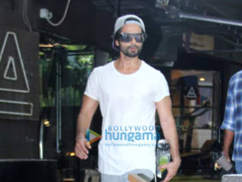 Photos: Amrita Arora and Shahid Kapoor spotted at the gym