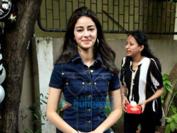 Photos: Ananya Panday celebrates her birthday on sets of Pati Patni Aur Woh