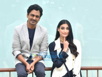 Photos: Athiya Shetty and Nawazuddin Siddiqui snapped promoting the film Motichoor Chaknachoor