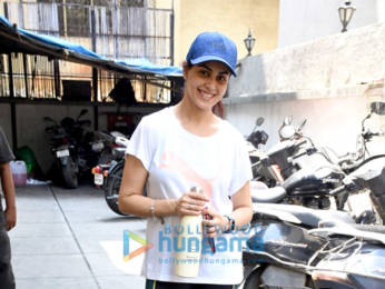 Photos: Genelia Dsouza spotted at the gym