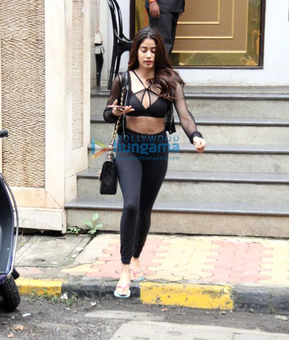 Photos: Janhvi Kapoor spotted at Manish Malhotra's store