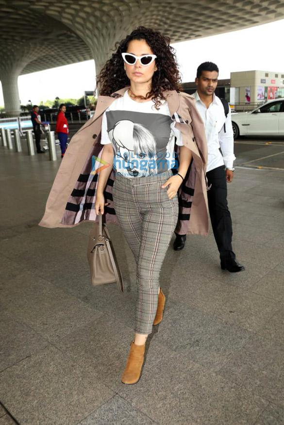 Photos: Kangana Ranaut, Zareen Khan and others snapped at the airport