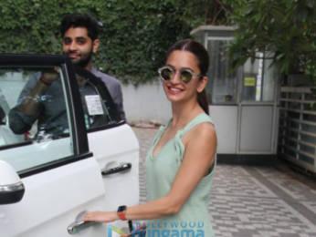 Photos: Kriti Kharbanda spotted at Emmay office
