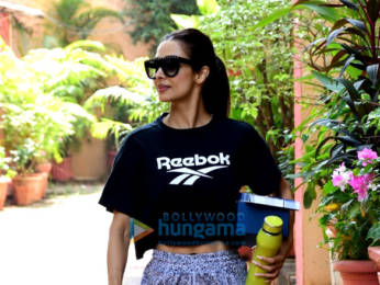 Photos: Malaika Arora and Amrita Arora spotted after yoga class in Bandra
